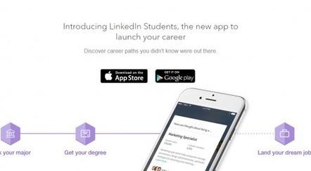 LinkedIn lance une appli pour aider les étudiants à trouver leur premier job | Les RH de demain | Scoop.it