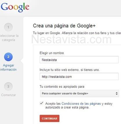 Cómo crear una Página en Google Plus (Google+) para empresa ... | Luliamor20012hotmail.com | Scoop.it