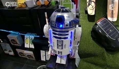 Les robots sont parmi nous - C dans l'air – France5 | Robotique de service | Scoop.it