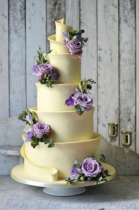 White chocolate Wedding cake | Passion for Cooking | Scoop.it