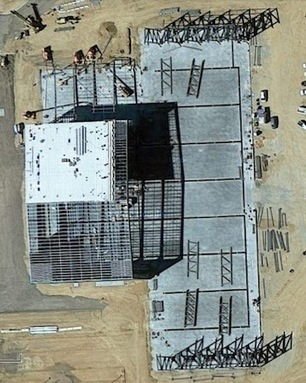 A Birdzilla's Eye View of the Stratolaunch Hangar Under Construction | Parabolic Arc | The NewSpace Daily | Scoop.it
