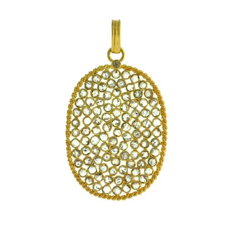 Diamond Oval Shape Pendant | Wholesale Jewelry | GemcoDesigns | Pave Diamond Palm Bracelets | Diamond Jewelry | GemcoDesigns | Scoop.it