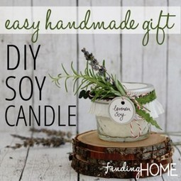 Handmade Gifts: How to Make DIY Soy Candles - Finding Home | My Scoops | Scoop.it