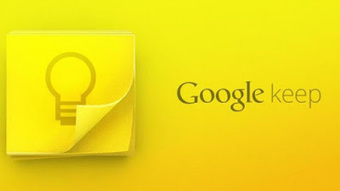 The Blog Teacher: Google keep - Excelente editor de notas e lembretes | REA | Scoop.it