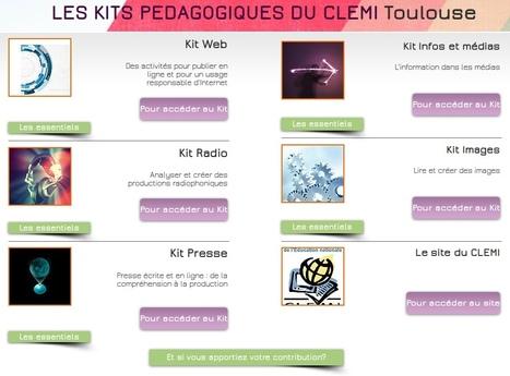 Kits pédagogiques du CLEMI Toulouse | Pédagogie Idées et techniques | Scoop.it