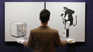 Una obra de Banksy, vendida en Londres por 161.000 euros - Qué.es | Banksy y sus obras | Scoop.it