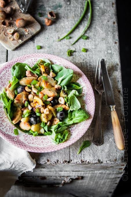 La Belle Vie.com et petite salade de boudin blanc aux saveurs d'automne   Le Petit Creux   Scoop.it
