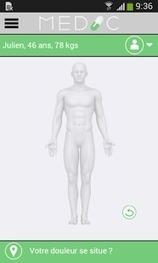 Medic : conseil médical personnalisé sur mobile