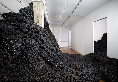 "Orly Genger: ""Masspeak"" | Art Installations, Sculpture, Contemporary Art | Scoop.it"