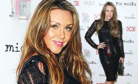 Michelle Heaton shows off slim post pregnancy figure in sleek sequined dress ... - Daily Mail | beauty | Scoop.it