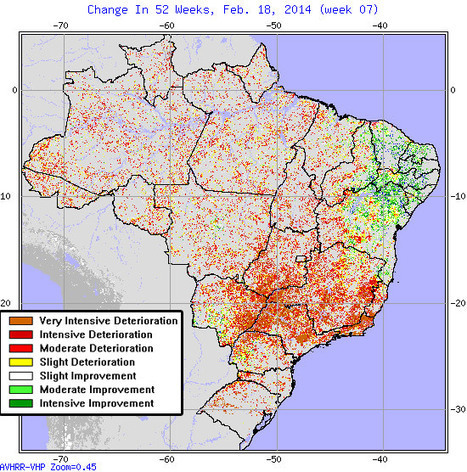Is Brazil's epic drought a taste of the future? | Sustain Our Earth | Scoop.it