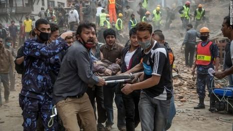 Séisme au Népal : Un nouveau bilan publié par la police népalaise s'établit à présent à 876 morts dans le pays. Plus de vingt de personnes seraient mortes en Inde et en Chine | Le flux d'Infogreen.lu | Scoop.it