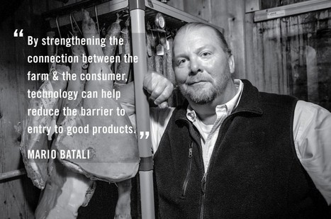 Mario Batali on Hacking a Better Future For Dining » Food+Tech Connect | Food+Tech | Scoop.it