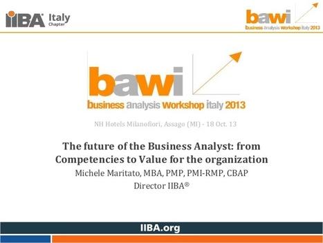 Maritato: IIBA bawi 2013 Conference   Cloud (EN - IT)   Scoop.it