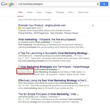Using Modern SEO to Build Brand Authority | Online marketing | Scoop.it