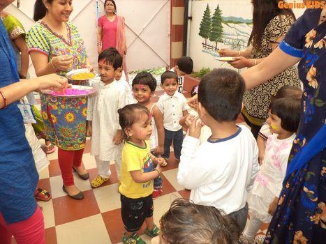 Leading day care celebrating Holi | Kids Creche in Kolkata | Scoop.it