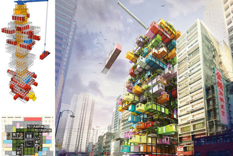 'Jenga-Like' Hotel Made From Recycled Shipping Containers | Trip to Design | Scoop.it