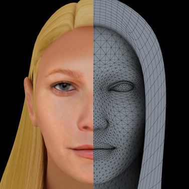 Gwyneth Paltrow visage 3D | 3D Library | Scoop.it