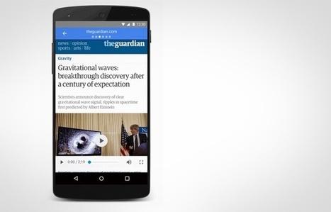 Google accélère les articles sur téléphonie mobile | 20 Minutes | documentation Sonia | Scoop.it