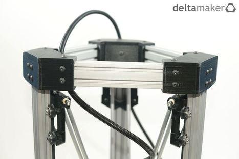 The DeltaMaker: Robot Meets 3D Printer | Alternativas: impresión 3D, hardware libre drones y otras tecnologías. | Scoop.it