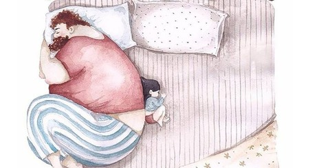 These Father-Daughter Illustrations Are Sweet Enough to Make a Grown Man Cry | ♨ Family & Food ♨ | Scoop.it