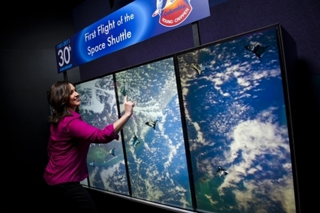 MultiTouch touch wall installed at the NASA Space Center - Good News from Finland | Finland | Scoop.it