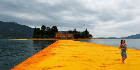 Le ponton éphémère de l'artiste Christo attire les foules sur le lac d'Iseo | Archivance - Miscellanées | Scoop.it