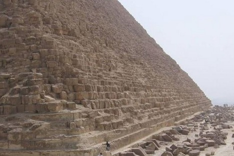Conférence de Marco Virginio Fiorini sur sa théorie relative à la construction de la pyramide de Khéops | Égypt-actus | Scoop.it