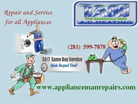 Complete Appliance Repair Services The Appliance Man | Appliance Repair Tips & Suggestions | Scoop.it