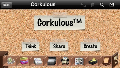 Daily iPhone App: Corkulous brings the beloved cork board to your iOS device | Coaching Central | Scoop.it