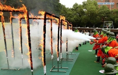School Fire Drills in China Are Way More Intense Than What You're Used To | Strange days indeed... | Scoop.it