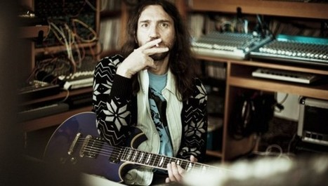 john frusciante talks electronic music in first interview in four years | Musicos extraviados | Scoop.it