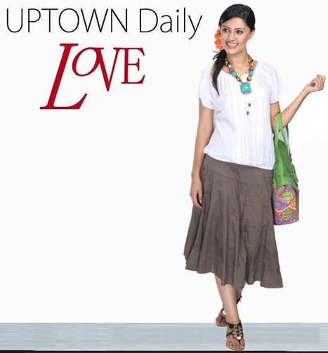 Skirts for Women Online India at Best Pric | Women Western,Ethnic Wear, Dresses, Tops, Skirts, Kurtis, Leggings with Best Deals- UPTOWNGALERIA | Scoop.it