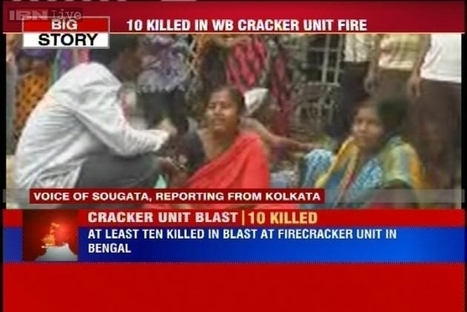 West Bengal: 10 feared dead in blast at an illegal firecracker manufacturing unit in West Midnapore | Silicosis - Oldest Occupational Disease | Scoop.it