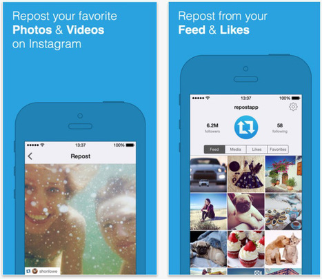 3 applications à tester pour mieux gérer #Instagram | Time to Learn | Scoop.it