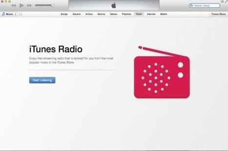 Apple lance son service de streaming iTunes Radio à l'international   Social media   Scoop.it