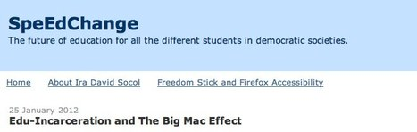 SpeEdChange: Edu-Incarceration and The Big Mac Effect   DeepEducationalThought   Scoop.it