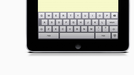 This Dead-Simple Idea Could Fix iPad's Lousy Typing | iPedagogy | Scoop.it