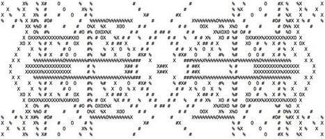 Tweet from @Yan2457 | ASCII Art | Scoop.it