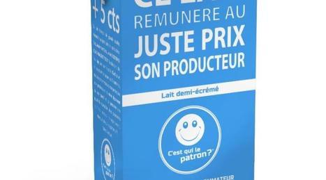 Des consommateurs votent pour une brique de lait au prix plus juste - Ouest-France | Le Fil @gricole | Scoop.it