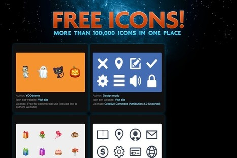 Need Free Icons? Here are 13 Websites to Download Them | inspirationfeed.com | digital marketing strategy | Scoop.it