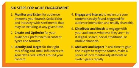 A 6 Step Plan to Maximize Content Marketing with AgileEngagement | PR Newswire | Agile Marketing and the Marketing Technologist | Scoop.it