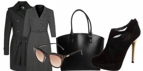L'eleganza si veste di scuro ma osa negli accessori | Moda Donna - sfilate.it | Scoop.it