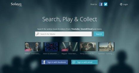 Crea listas de reproducción de Youtube, Soundcloud y Dailymotion gracias a Solayo | Música en el aire | Scoop.it