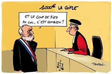 1 000 € la gifle   Baie d'humour   Scoop.it