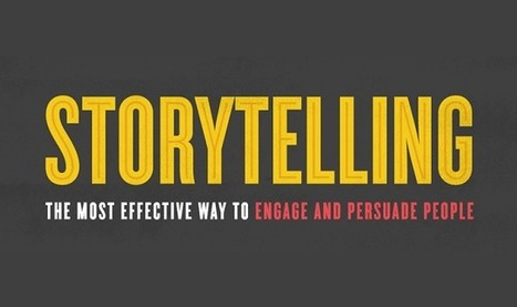 Storytelling The Most Effective Way to Engage and Persuade People #infographic | Blended-Flipped Classroom | Scoop.it