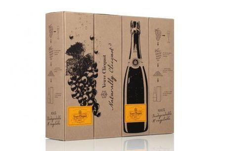 Veuve Clicquot emballe son champagne avec du raisin | Le Vin et + encore | Scoop.it