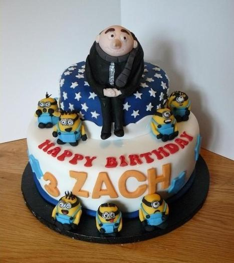 Gru Despicable me cake Minions - CakesDecor | Despicable Me | Scoop.it