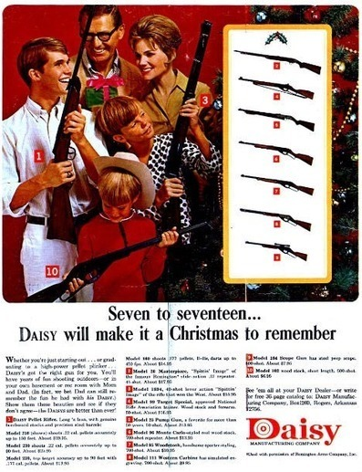 Christmas Guns- Guns for the whole family | A Cultural History of Advertising | Scoop.it