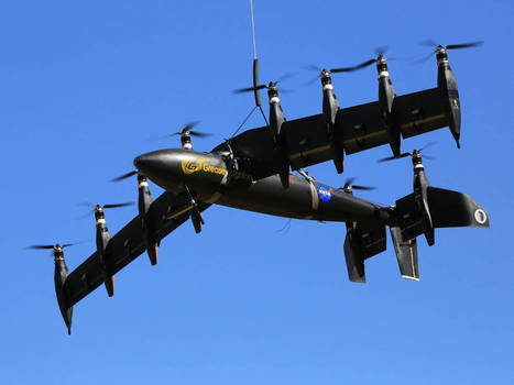 Ten-Engine Electric Plane Prototype Takes Off | Politically Incorrect | Scoop.it